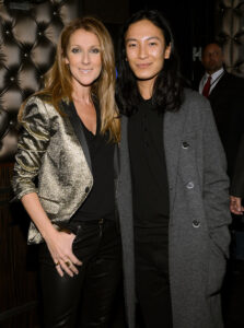 Céline Dion, Alexander Wang (© Larry Busacca/Getty Images North America)