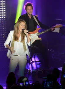 Céline Dion, André Coutu (© Larry Busacca/Getty Images North America)