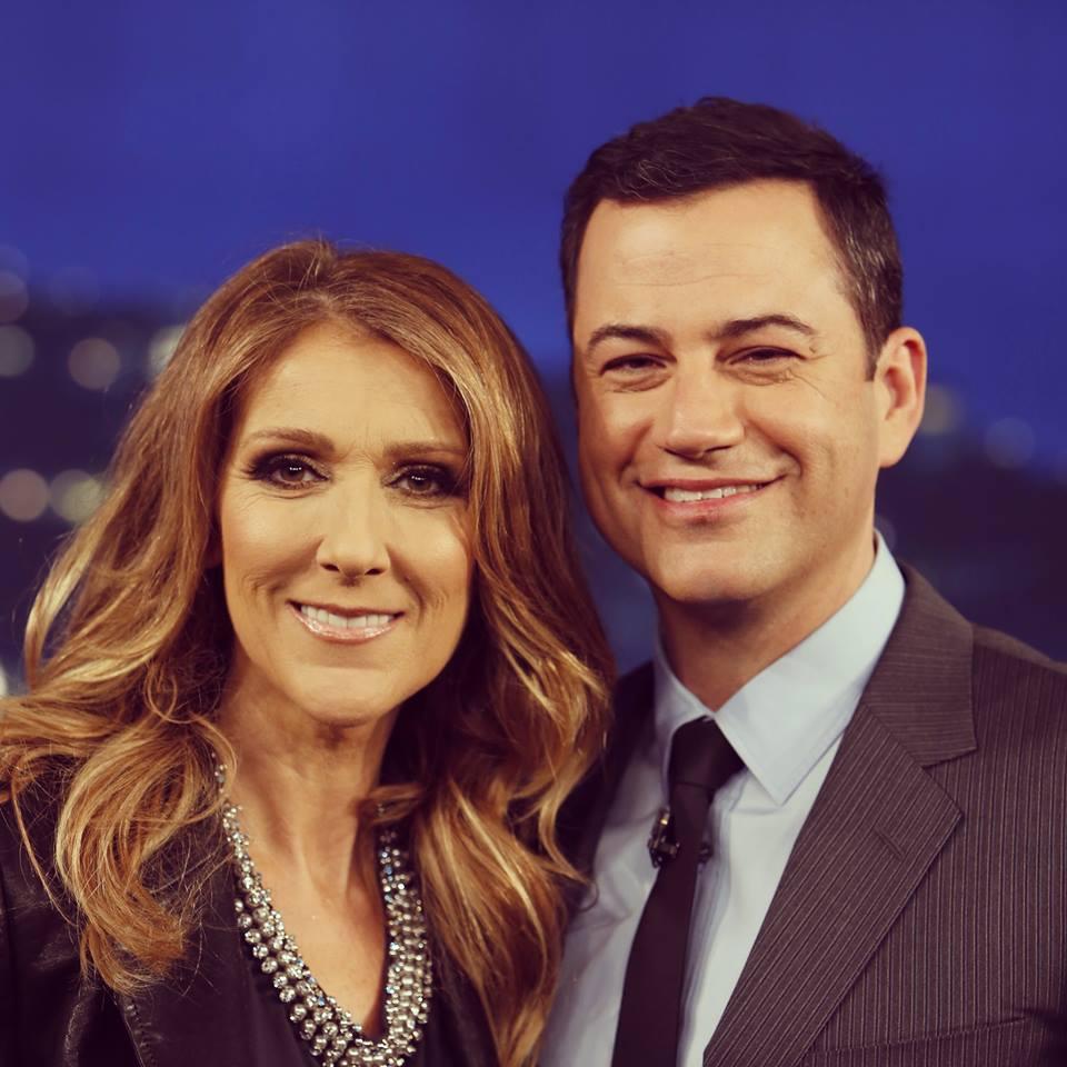 Céline Dion, Jimmy Kimmel (© Jimmy Kimmel)