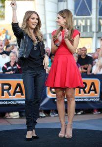 Céline Dion, Maria Menounos (© Rb/Bauer Griffin)