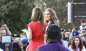 Céline Dion, Maria Menounos (© PacificCoastNews.com)