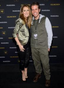 Céline Dion, Perez Hilton (© Larry Busacca/Getty Images North America)