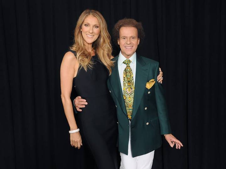 Céline Dion, Richard Simmons (© Richard Simmons)