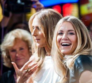 Francine Chaloult, Céline Dion, Véronic DiCaire (© Tom Donoghue/DonoghuePhotography.com)