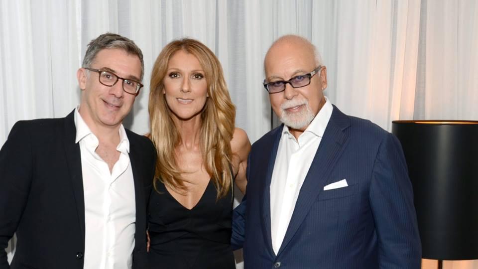Franck Saurat, Céline Dion, René Angélil (© Franck Saurat)