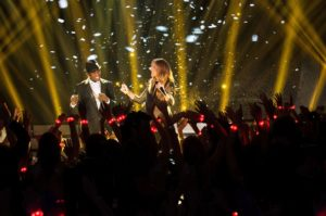 Ne-Yo, Céline Dion (© OSA Images)
