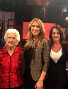 Thérèse Dion, Céline Dion, Nadia Comaneci