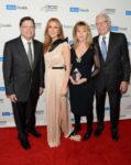 Dr. Gerald Berke, Céline Dion, Ann Moss, Jerry Moss (© Jason Merritt/Getty Images North America)
