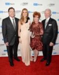 Dr. Gerald Berke, Céline Dion, Diane Bashor, James Bashor (© Jason Merritt/Getty Images North America)