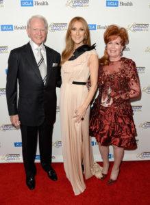 James Bashor, Céline Dion, Diane Bashor (© Jason Merritt/Getty Images North America)